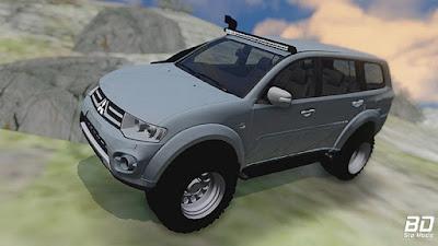Mitsubishi Pajero Sport para GTA San Andreas - Frente