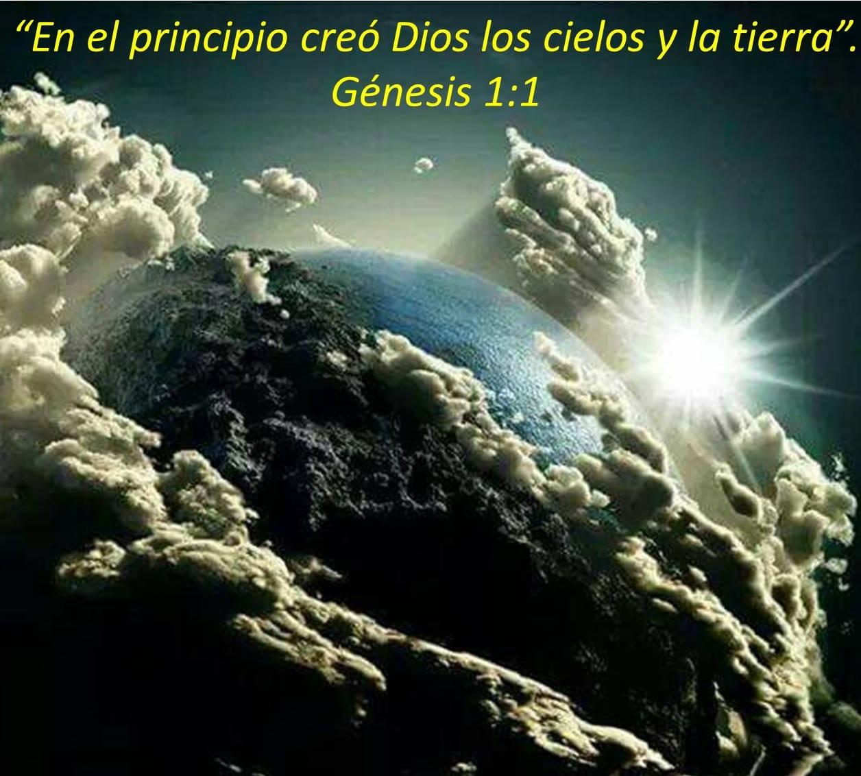 La historia de la creaci n g nesis 1 2 mundo b blico for En 7 dias dios creo el mundo