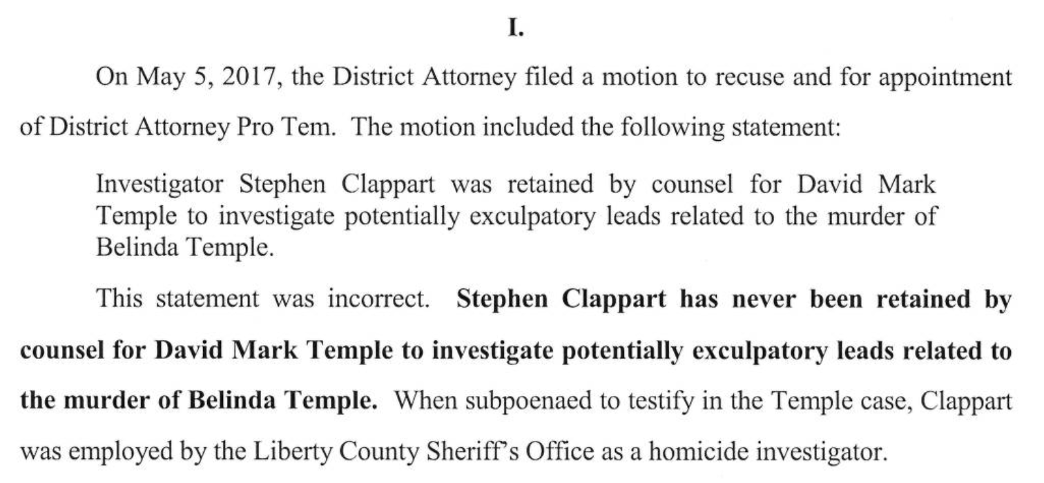 174th district court case 1430835 - The Motion Entitled Harris County District Attorney S Amended Motion To Recuse And For Appointment Of District Attorney Pro Tem Contained The Following