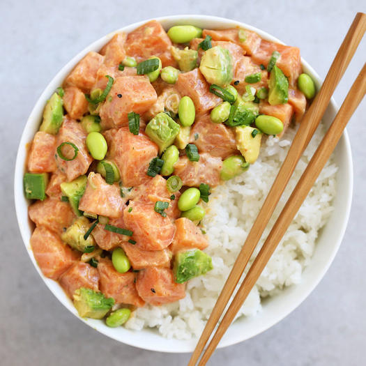 Dinning Food Diet Foods Food And Recipes Deliciously Smart Twists On the Poke Bowl Trend