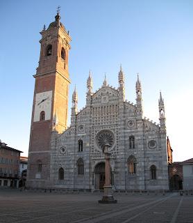 The Basilica of San Giovanni Battista in Monza