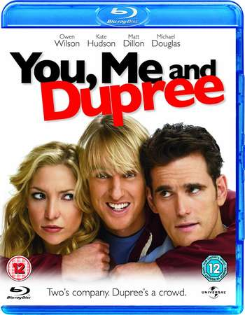 Poster Of You, Me and Dupree 2006 English 300MB BRRip 480p ESubs Free Download Watch Online Worldfree4u