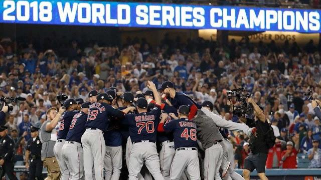 Medias Rojas de Boston gana la Serie Mundial