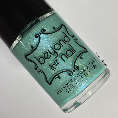 Beyond The Nail Chill swatch from winter sub-zero collection