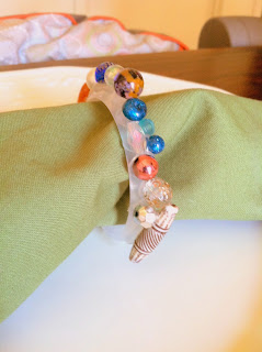 DIY Eclectic Napkin rings