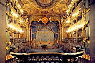 Teatro de la ópera de los Margraves de Bayreuth.