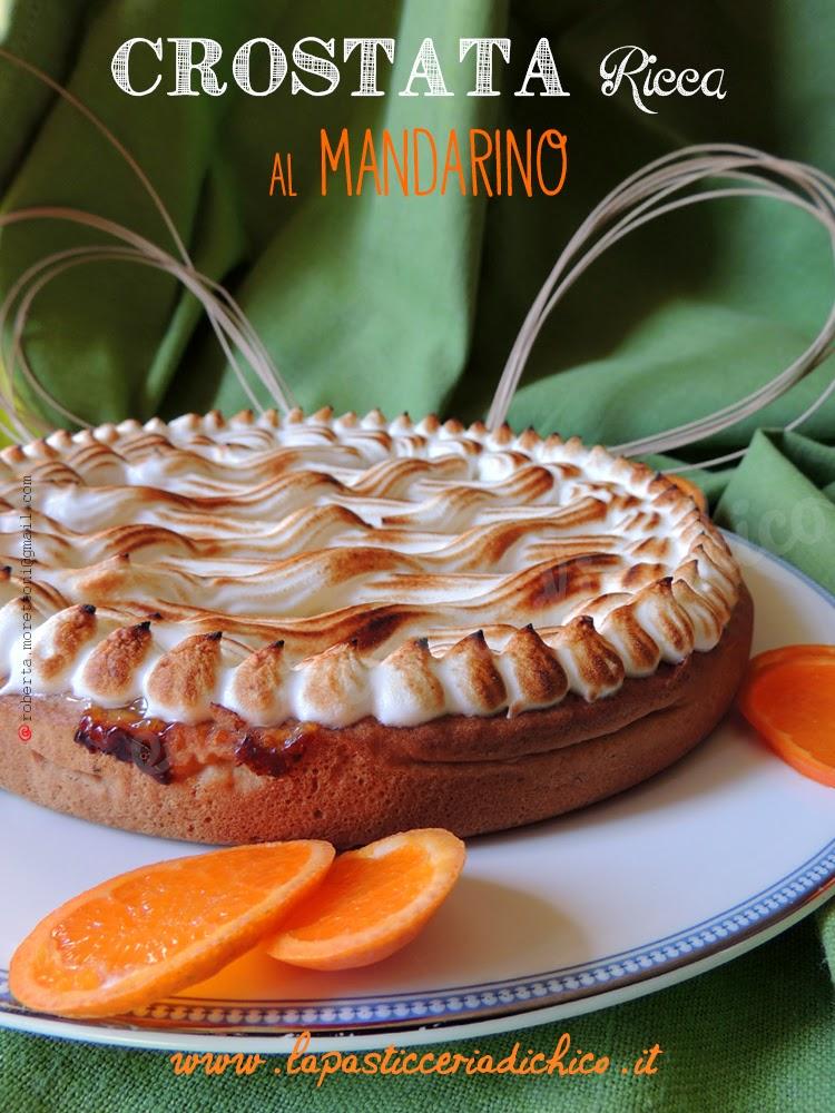 Crostata Ricca al mandarino - la pasticceria di chico