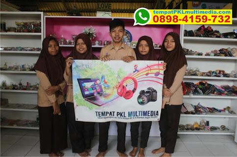 Peserta PKL SMK Jurusan Multimedia