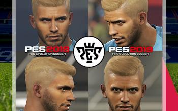Sergio Agüero | New Hair | PES2019 | PES2018 | By rkh257