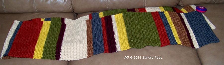 The Crochet Cabana Blog Doctor Who Scarf