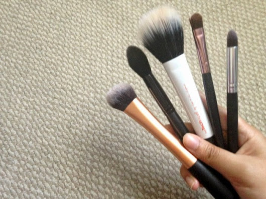 What I Did On Wednesday.: fave makeup brushes