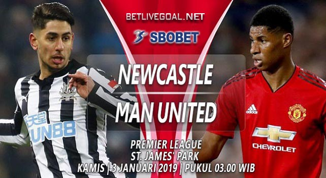 Live Streaming Newcastle vs Manchester United 3 Januari 2019