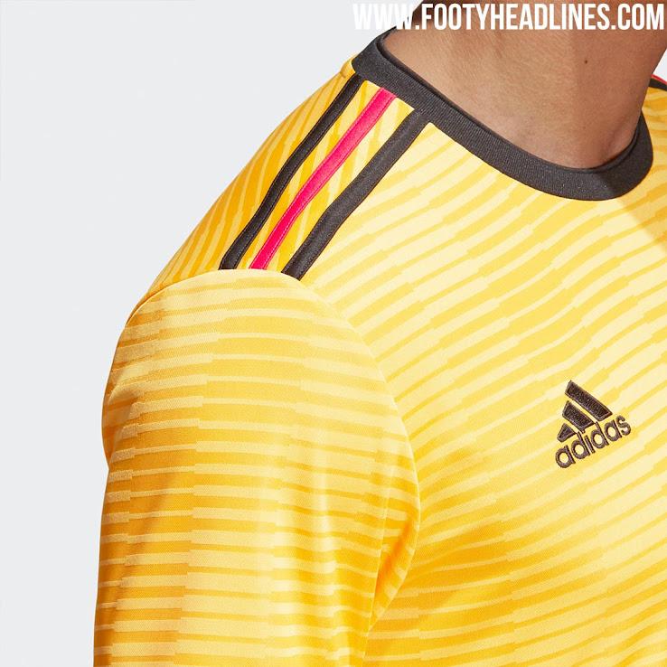 108a6ca4c33 Belgium 2018 World Cup Away Kit Released - Footy Headlines