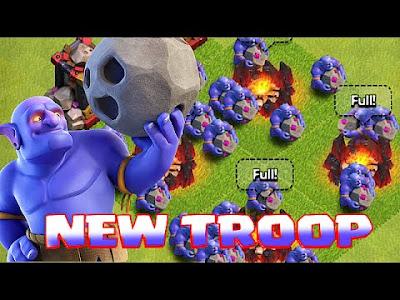 Update Terbaru Clash of Clans 21 Maret 2016 New Troops Bowler, Upgrade Inferno dan Balancing Troops