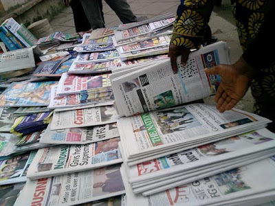 Latest Nigeria Newspapers Headlines for Today, Monday, May 22, 2017