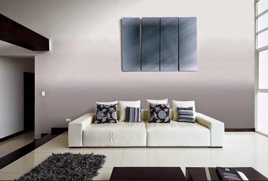 10 ideas de decoraci n para salas en gris - Colores grises para salones ...