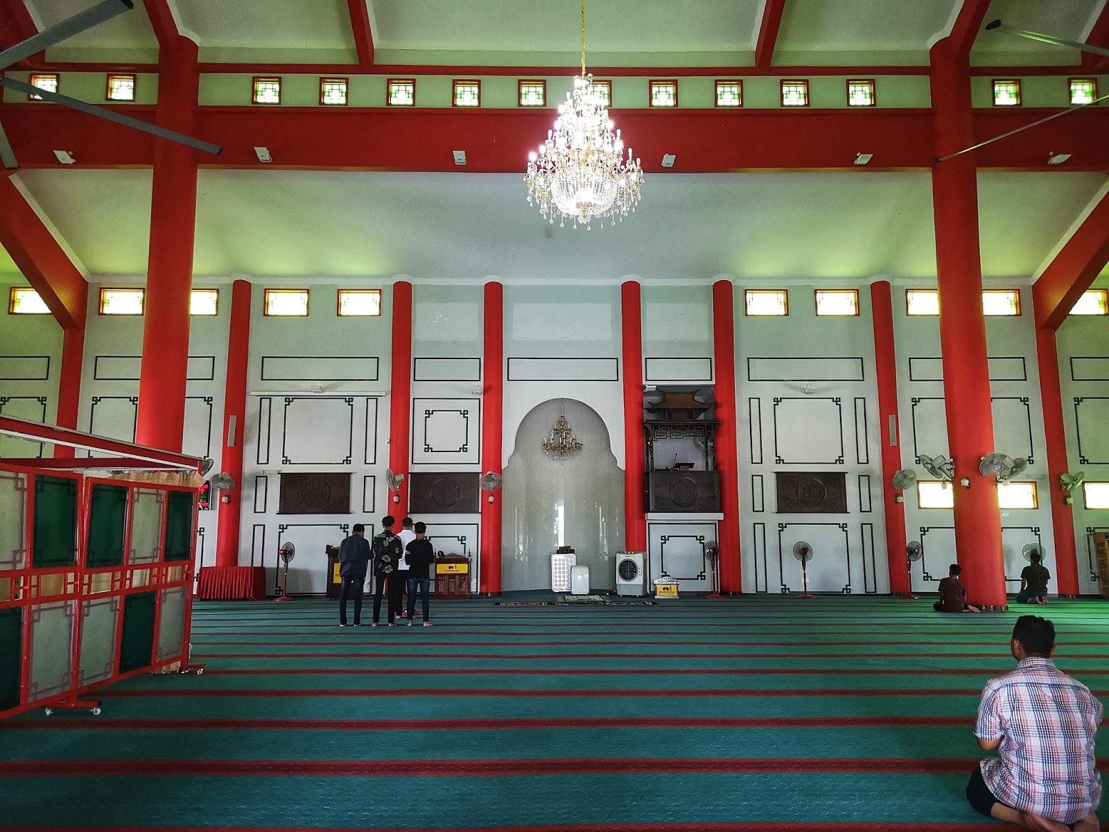 Rekabentuk binaaan Masjid Cina Krubong, Melaka 5