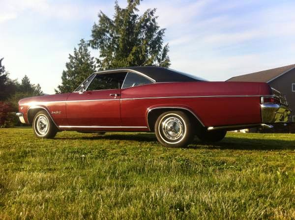 Craigslist Old Cars For Sale >> 1966 Chevrolet Impala Super Sport for Sale - Buy American Muscle Car
