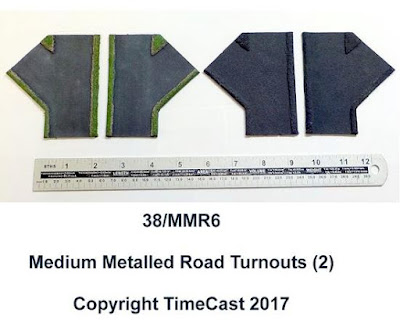 38/MMR6 – Medium Metalled Road Turnouts (2)