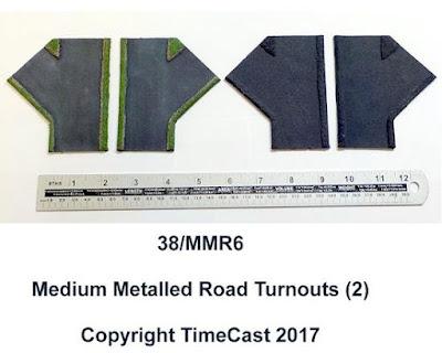 38/MMR6 – Medium Metalled Road Turnouts (2)