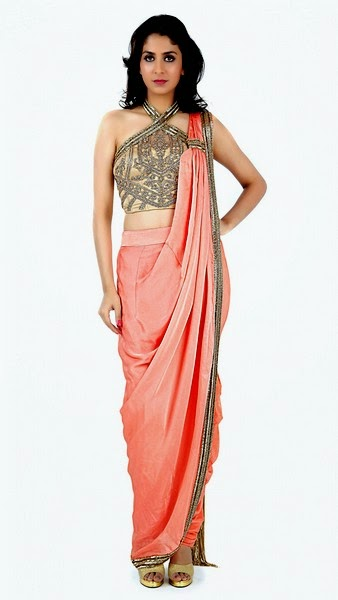 Indian Designer Sonaakshi Raaj Saree Collection 2014