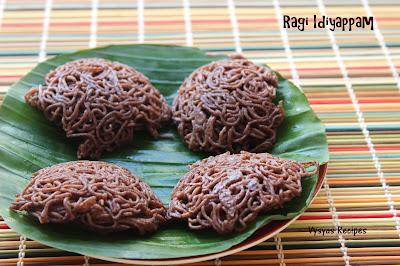 Ragi Idiyappam