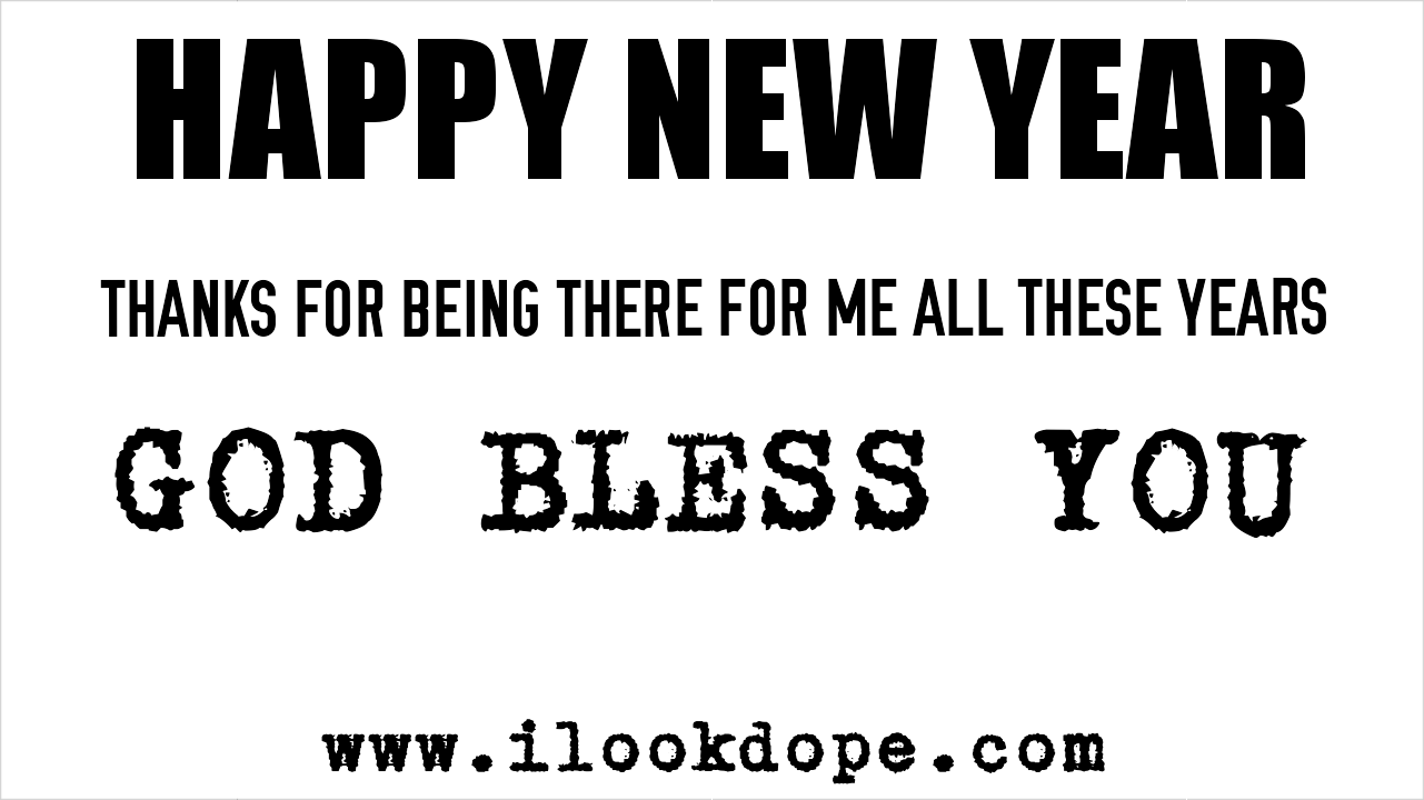 ilookdope new year message for 2017