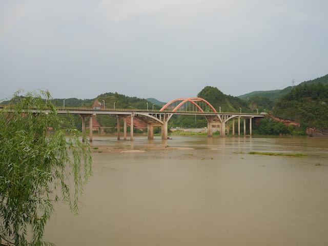 Meilin Bridge (梅林大桥) in Ganxian, Ganzhou