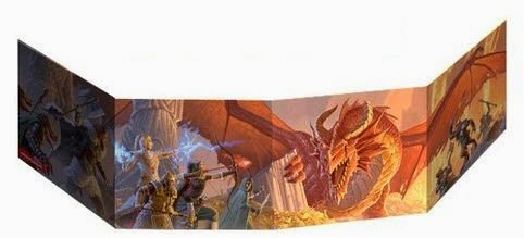 Dungeons & Dragons: Dungeon Master's Screen - Tabletop and Board