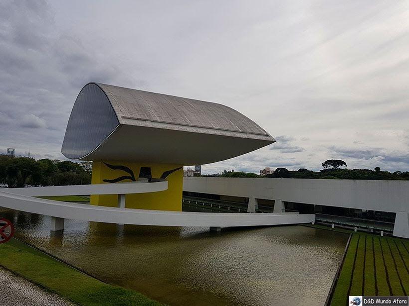 Museu Oscar Niemeyer - O que fazer em Curitiba, Paraná