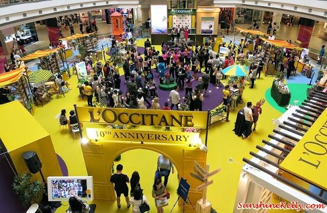 l'occitane Malaysia, l'occitane Malaysia 10th Anniversary Celebration,