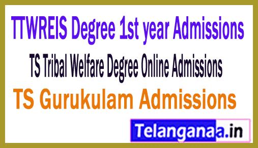 TTWREIS RDC Admissions / TS Tribal Welfare Degree Online Admissions 2019 -TS Gurukulam Admission