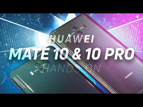 Huawei Mate10 and Huawei Mate10 pro  comparision, review
