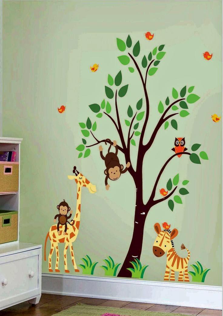 vinilos infantiles animales bebe nio cuartos infantiles decoracin bebe vinilos infantiles