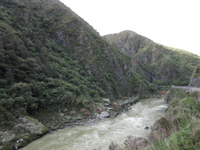 Garganta Manawatu, Nueva Zelanda