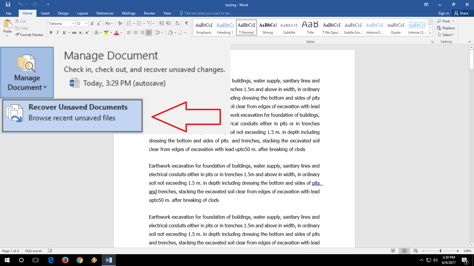 5 Easy Ways to Recover an Unsaved Word Document