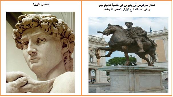التعبير الفني في عصر النهضة الاوربية