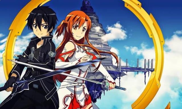 Sword Art Online - Daftar Rekomendasi Anime Action Romance Terbaik