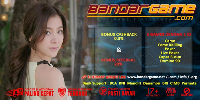 Situs Judi Live Poker Online Terpercaya BandarGame