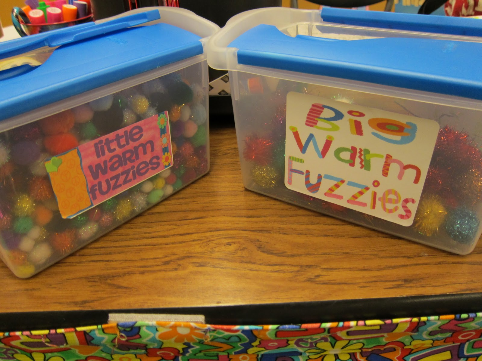 Classroom Management With Warm Fuzzies