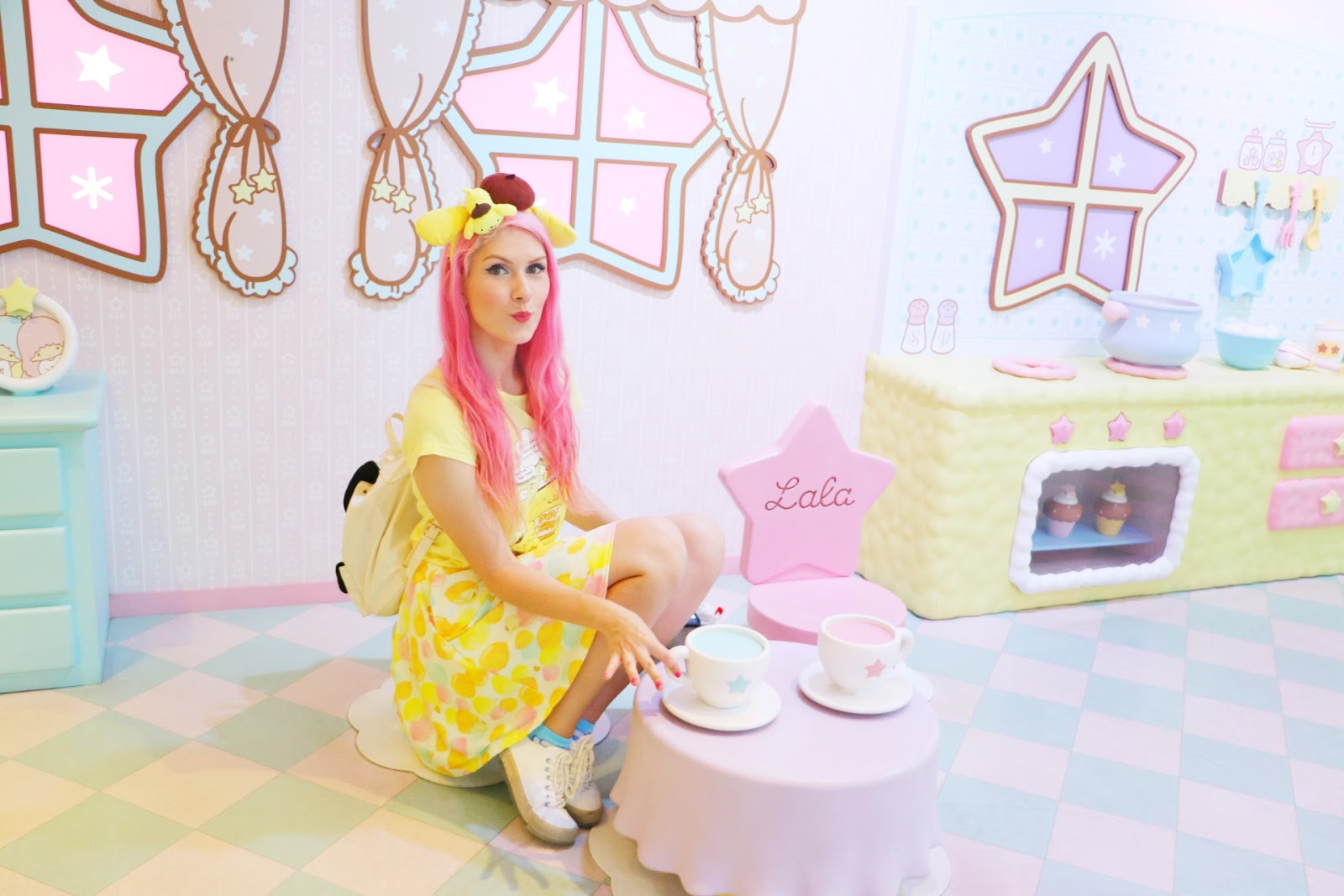 The Ultra kawaii Sanrio Puroland theme park is a must see in Tokyo! Click through for more info and photos
