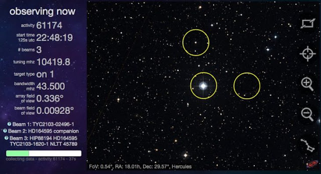 Reciben una fuerte señal de otro planeta ¿No estamos solos?