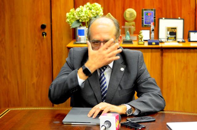Gilmar Mendes - Presidente do TSE Foto Joaquim Dantas/Blog do Arretadinho