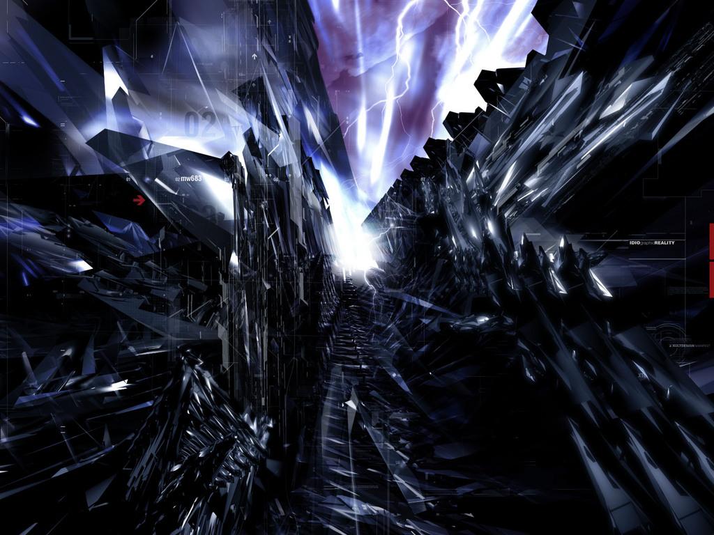 mashababko: Wallpaper With Crystals