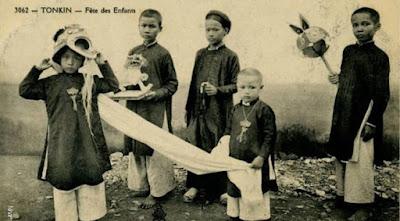 Trung thu của người Việt một thế kỷ trước