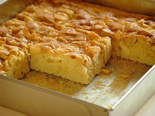 Recette de gâteau bio aux pommes