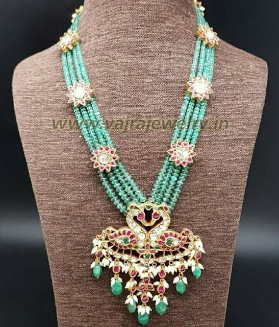 Emerald Beads Set by Vajra Jewelry
