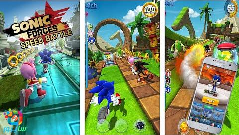 تحميل لعبة Sonic Forces: Speed Battle على هواتف أندرويد وآيفون