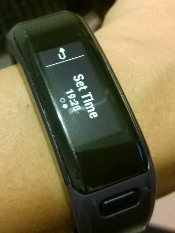 Garmin activity trackers, Garmin Connect errors, and time zones