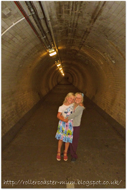 loving the Greenwich Foot Tunnel under the Thames